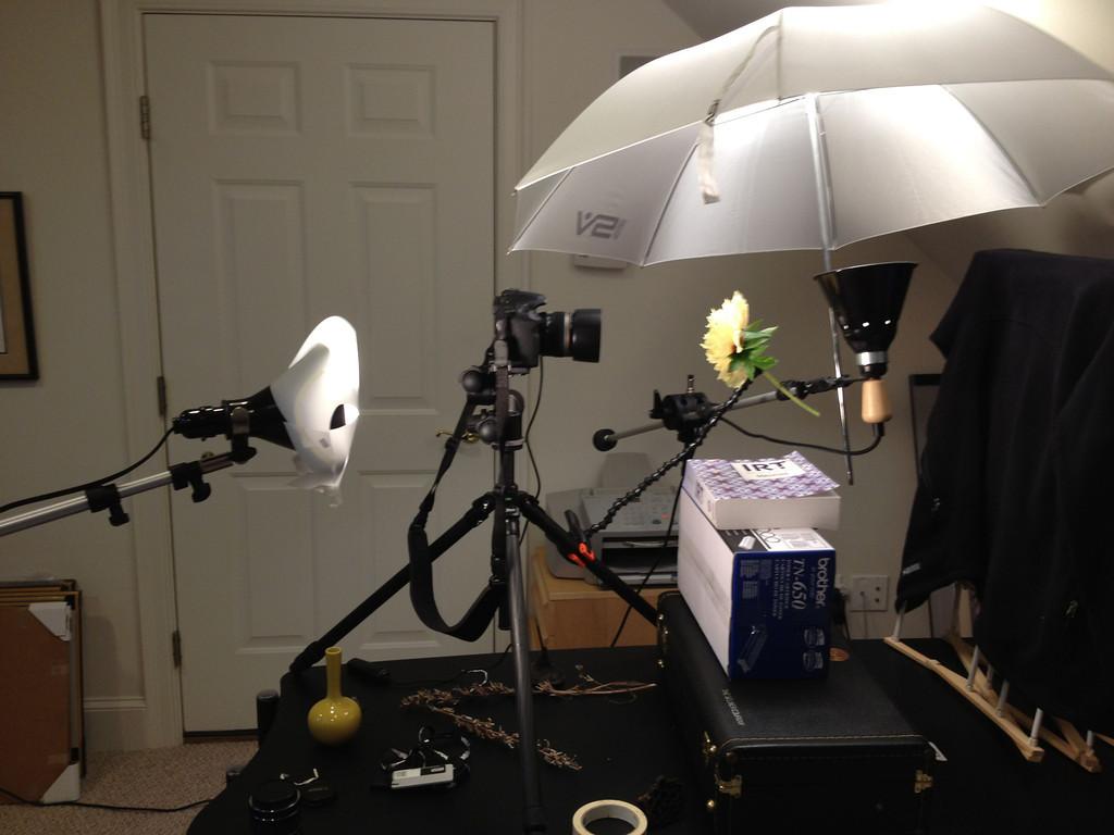 lighting for tabletop studio