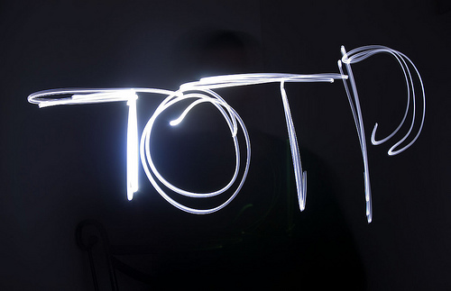 How can I make light graffiti?