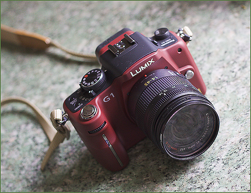 Say hello to the Panasonic G1 four thirds camera