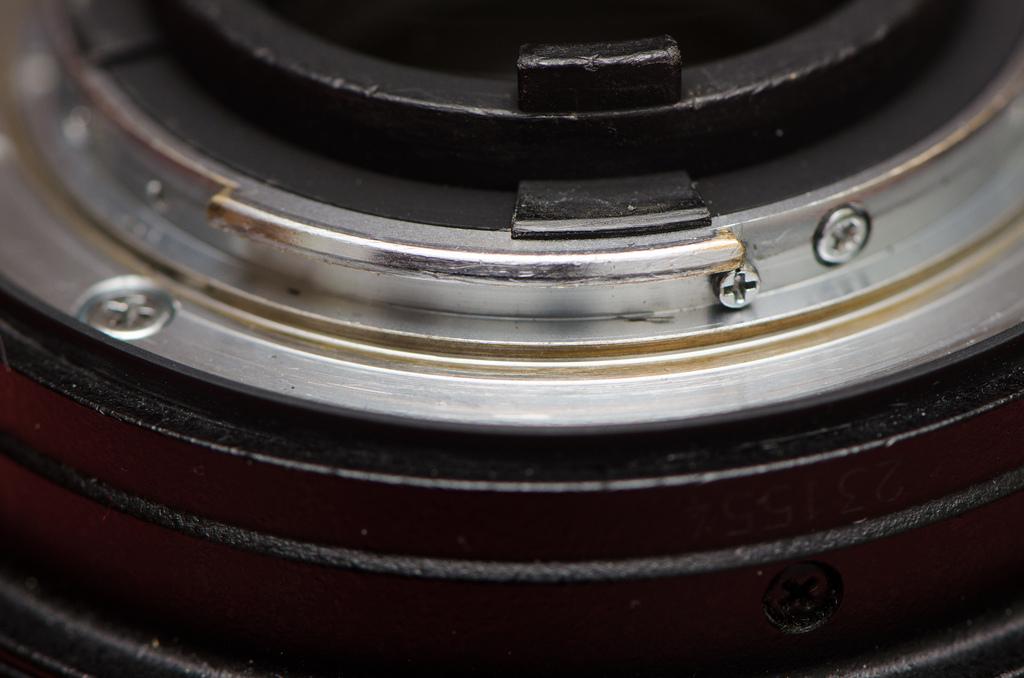 lens mount rust?