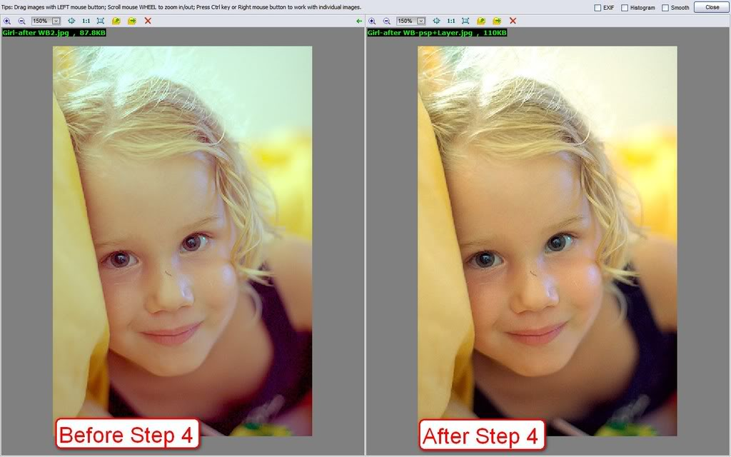 TUTORIAL: White balancing JPEG in Photoshop