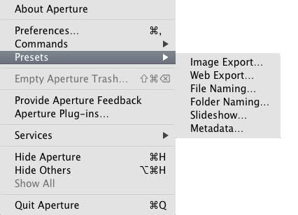 Putting Borders and signature using Aperture