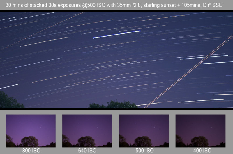 Startrail ISO reference