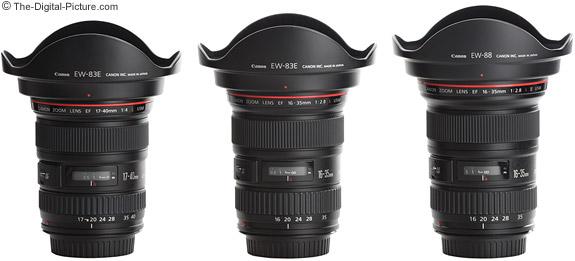 UWA lens hood