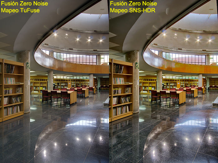 Tone mapping comparision: TuFuse vs SNS-HDR