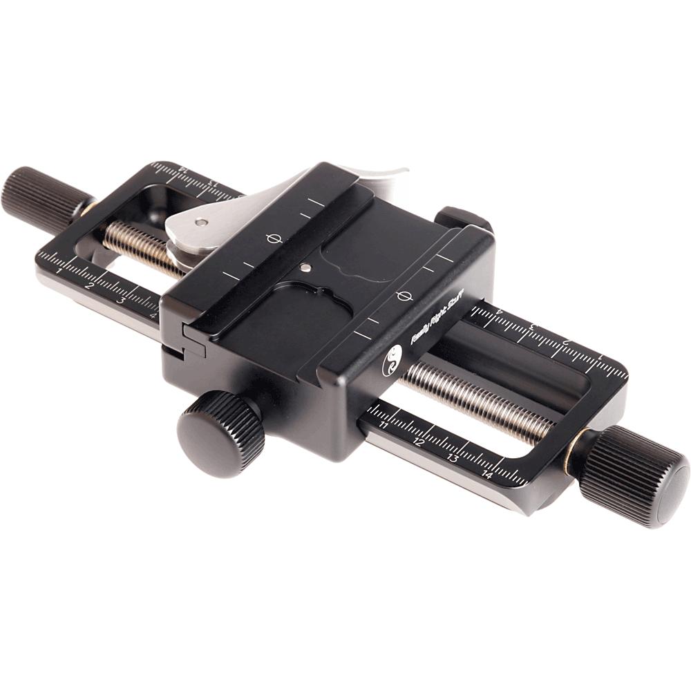 Focus rail/rack for a heavy camera & lens