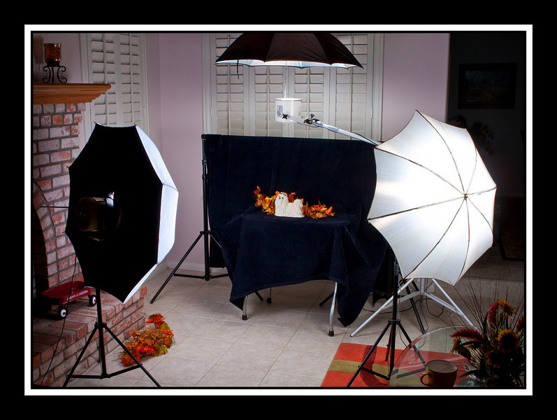 Lighting Setup for Table-top Shooting