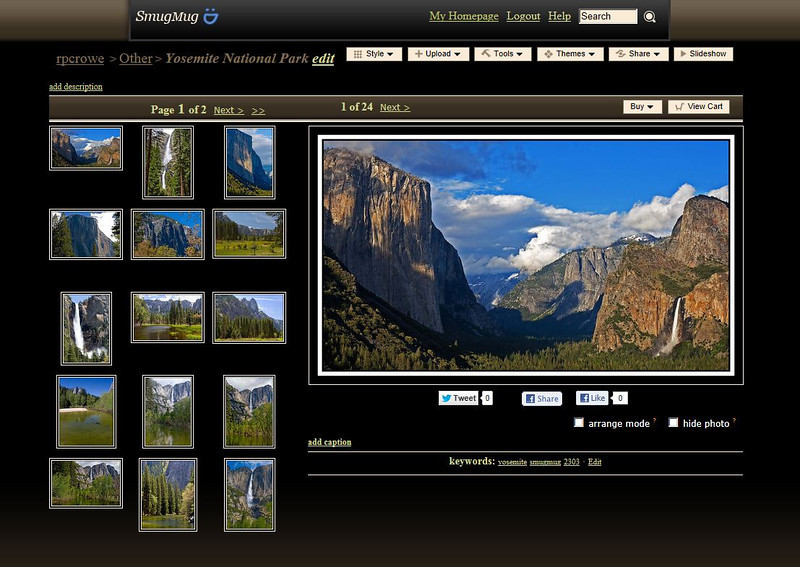 Smugmug Displays