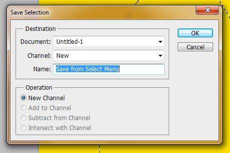 Creating an Alpha channel in CS5