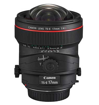 Alternatives to Canon TS-E 17mm f/4L