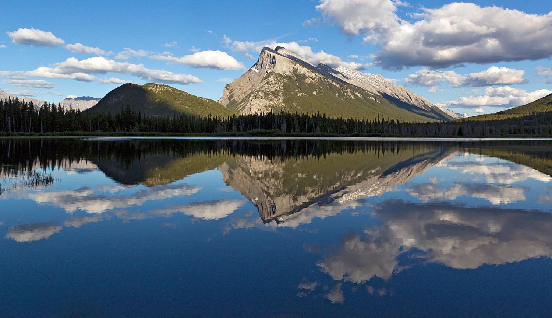 The Vermilion Lakes Banff